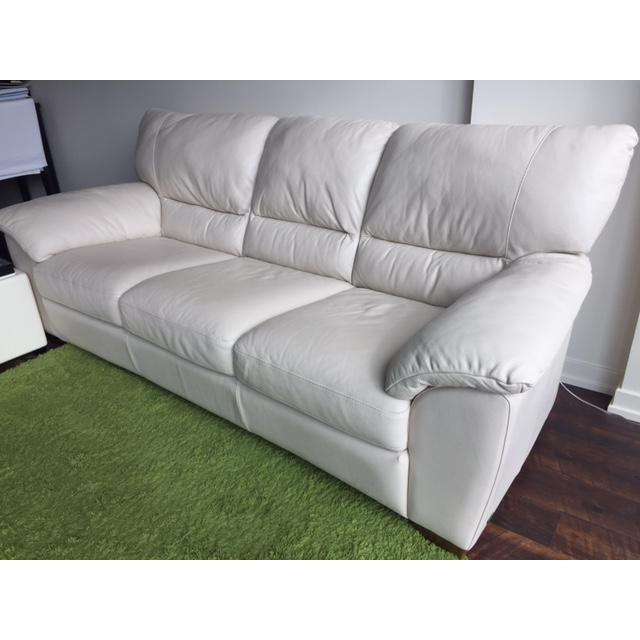 Natuzzi Edition Donato 3-Seater Leather Sofa | Chairish
