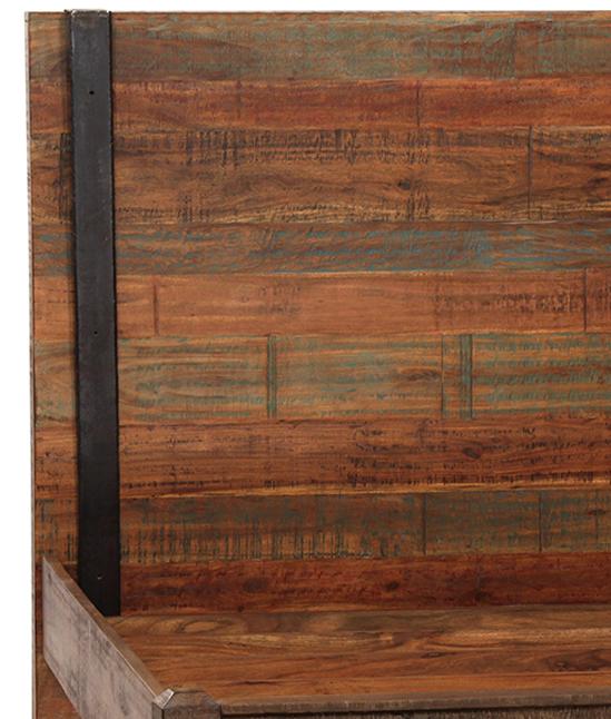 reclaimed wood bed frame. Reclaimed Wood Bed Frame Eastern King - Image 2 Of