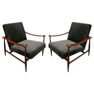 1960s Brazilian Armchairs-A Pair For Sale