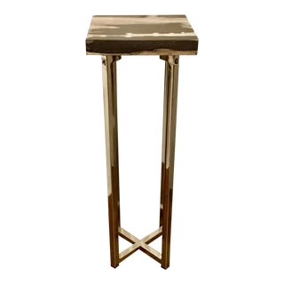 Contemporary Interlude Home Argo Square Drinks Table