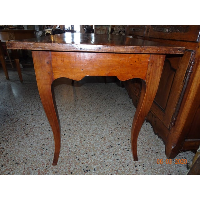 Mid 19th Century 19th Century French Farm Table For Sale - Image 5 of 13