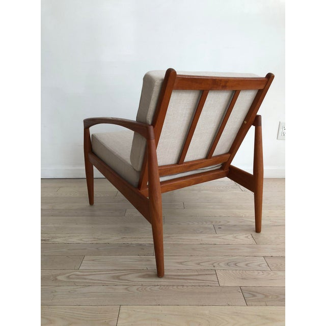 1955 Mid-Century Modern Kai Kristiansen Teak Paper Knife Easy Chair For Sale In New York - Image 6 of 13
