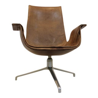 Fabricius & Kastholm Kill FK 6727 Tulip Swivel Chair For Sale