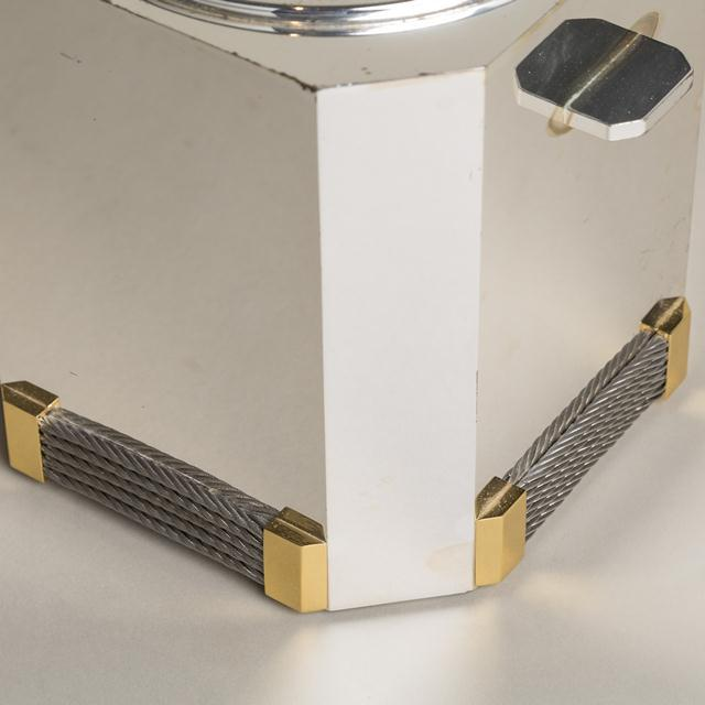 Mid-Century Modern A Superb Gucci Ice Bucket Italy 1990s stamped For Sale - Image 3 of 4