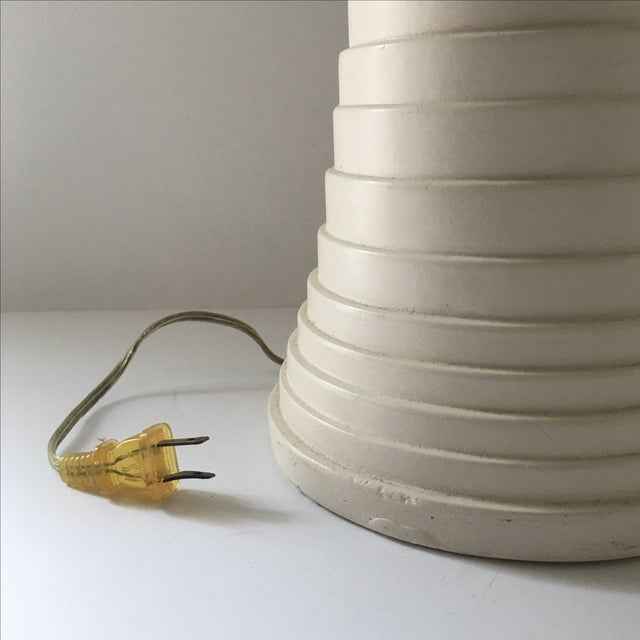 Modern Pleated Lamp - Image 7 of 7