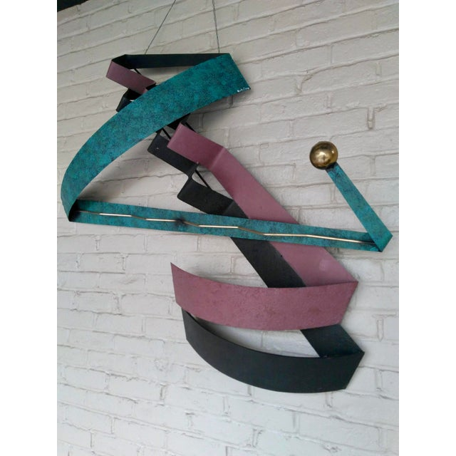 C. Jere 1980s Contemporary Wall Sculpture For Sale - Image 10 of 12