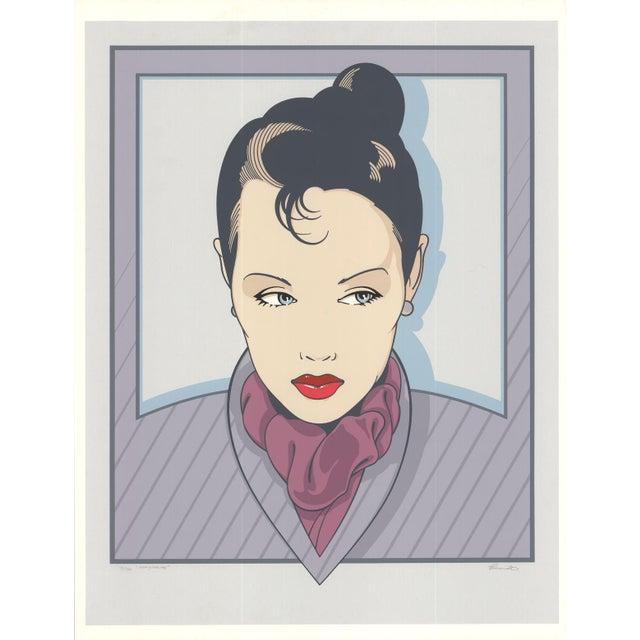 Modern Henry Schmidt-Marguerite-Serigraph-SIGNED For Sale - Image 3 of 3
