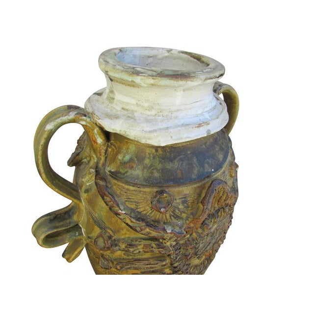 """Ceramic Mid-Century Ceramic """"Pot"""" Vase For Sale - Image 7 of 9"""