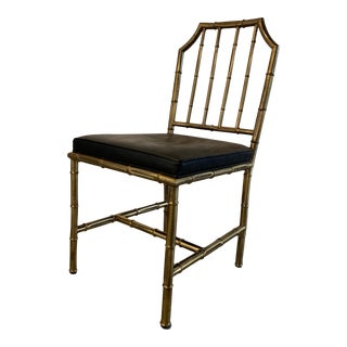 Hollywood Regency Mastercraft Chair For Sale