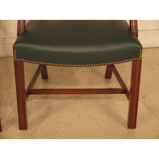 Chippendale Mahogany Dining Room Chairs - Set of 8 - Image 4 of 11