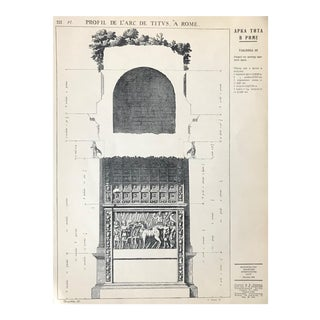 1939 Original Russian Architectural Portfolio, Architectural Plans + Designs For Sale