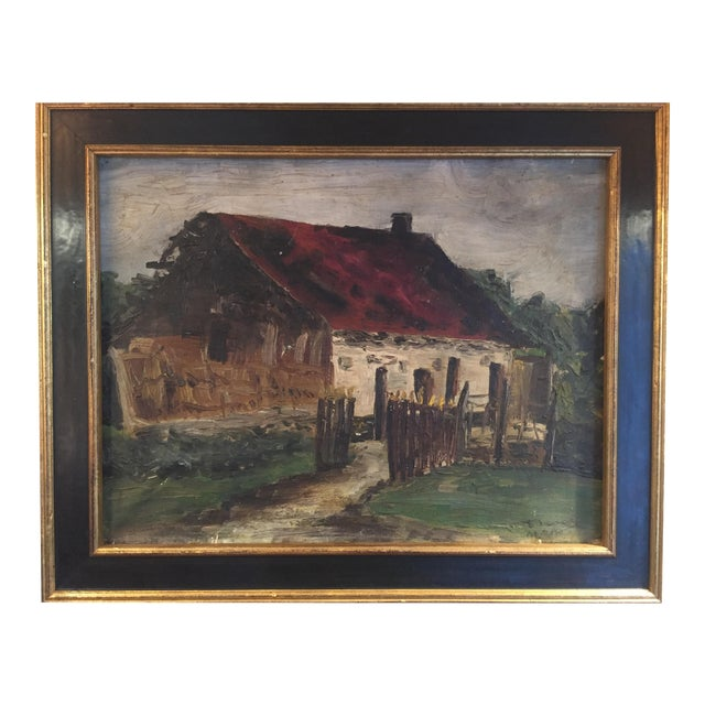 Barn Oil Painting For Sale