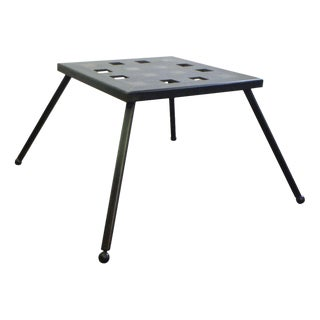 Bronze Grid Side Table