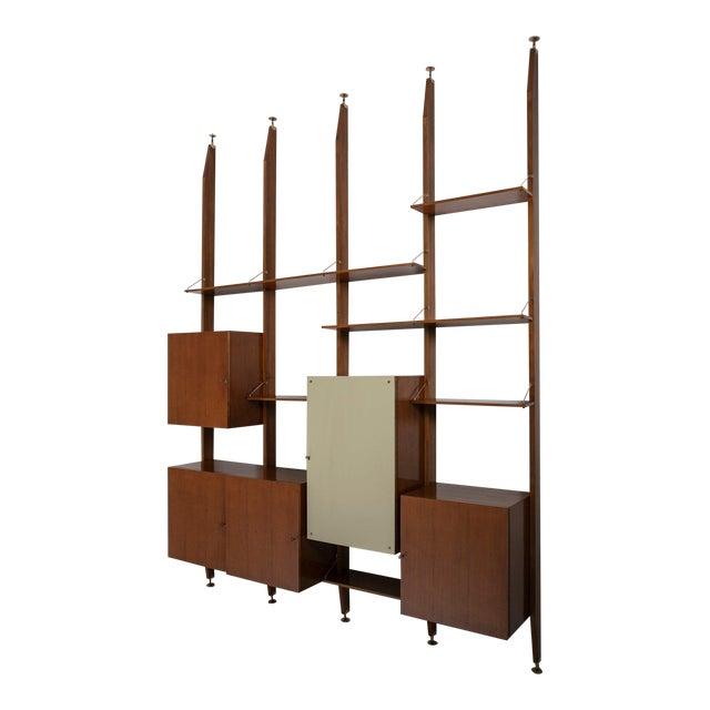 Italian 50s Bookcase For Sale