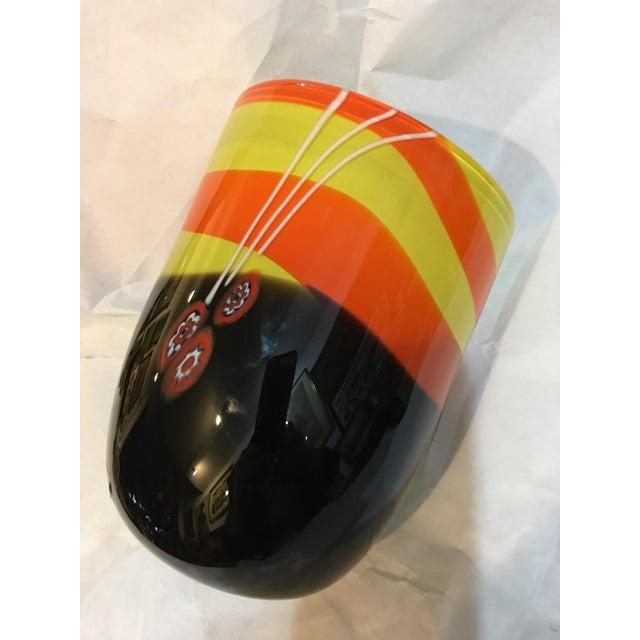 Michael Segerberg for Larson Signed Art Vase For Sale In New York - Image 6 of 8