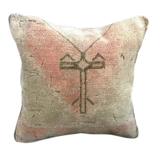 Tribal Turkish Wool Sofa Pillow Cover For Sale