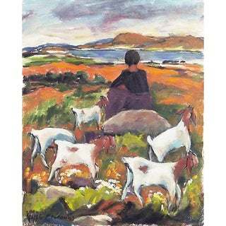 Goats Grazing by the Bay For Sale