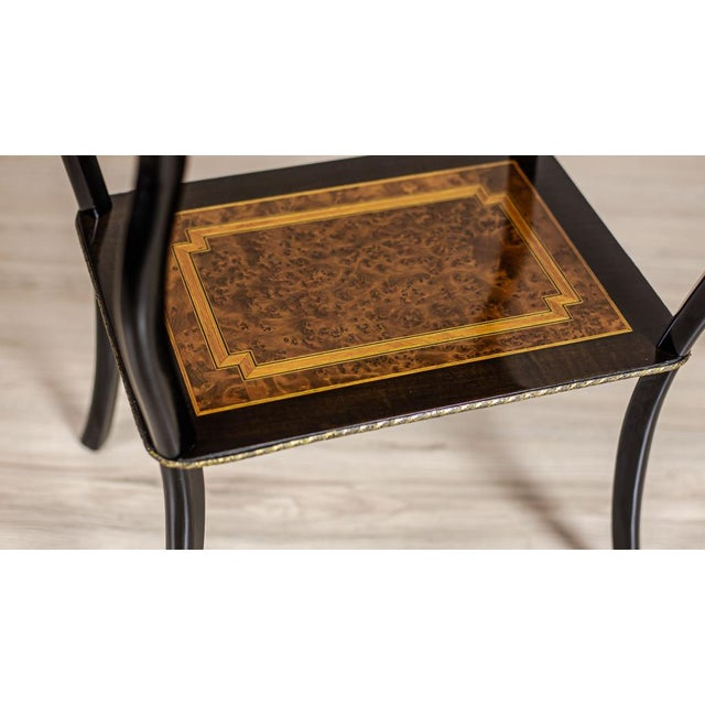 Metal 19th-Century Victorian Encrusted Vanity Table For Sale - Image 7 of 11