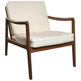 Ole Wanscher Teak Lounge Chair for John Stuart