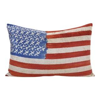 Silk Velvet Down Feather Lumbar Pillow For Sale