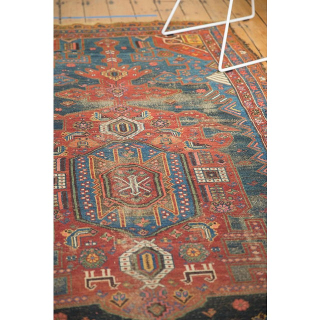"Antique Hamadan Rug - 4'9"" X 7'11"" - Image 5 of 13"