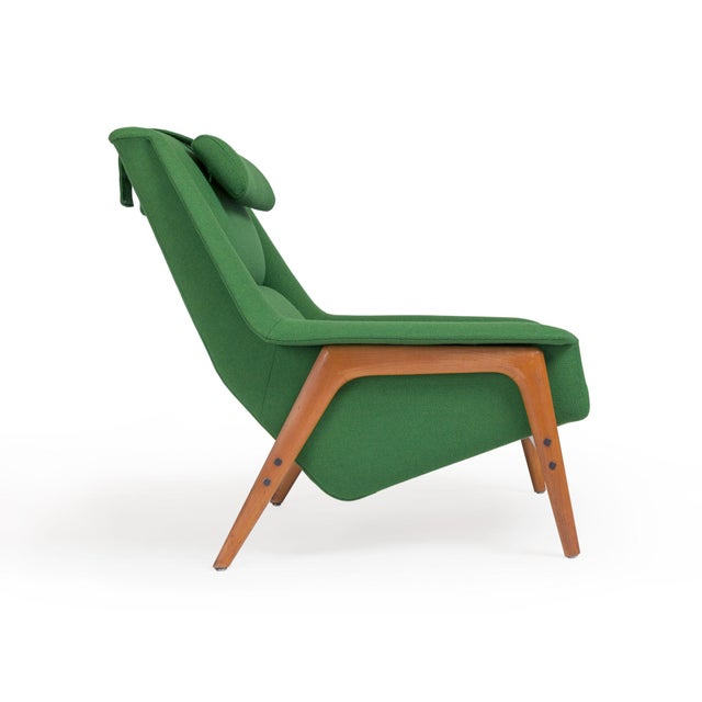 Folke Ohlsson Dux Lounge Chair by Folke Ohlsson For Sale - Image 4 of 9