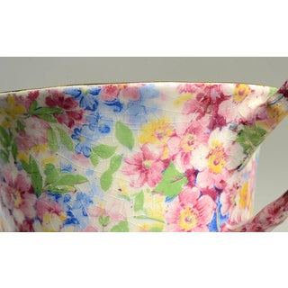 James Kent (England) Apple Blossom Chintz Sugar Bowl & Lid Preview