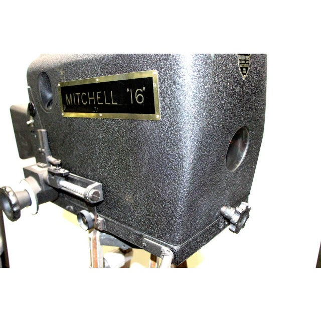 Original Mitchell Camera 16mm Camera Studio Blimp Housing. Circa 1940. Display As Sculpture. For Sale In Dallas - Image 6 of 6