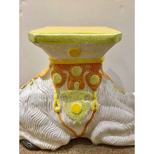 Vintage Italian Terracotta Camel For Sale In Atlanta - Image 6 of 8