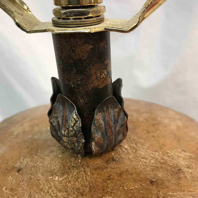 Fine Art Metal Detailed Table Lamp - Image 11 of 11