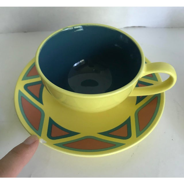 Vintage Germany Picasso Mug and Plate - Service for 3 For Sale - Image 4 of 8