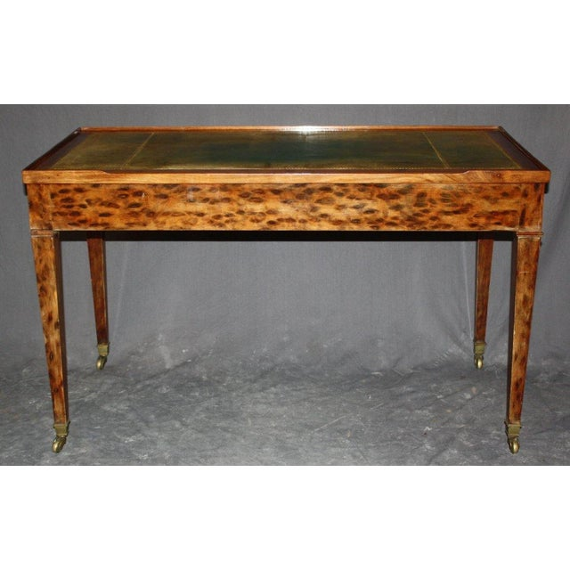 French Directoire Bureau Plat With Game Table - Image 2 of 5