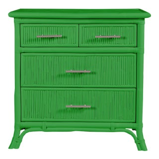 Aruba Four-Drawer Chest - Bright Green For Sale