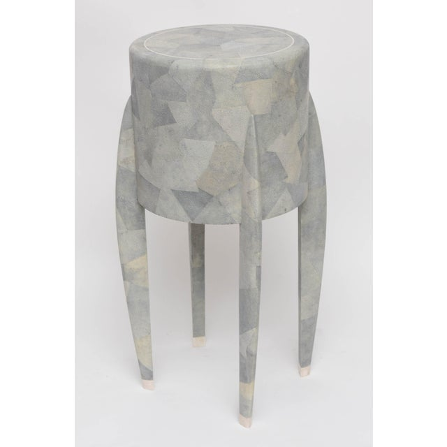 Diminutive Patchwork Shagreen Chest of Drawers by Maitland-Smith For Sale - Image 9 of 11