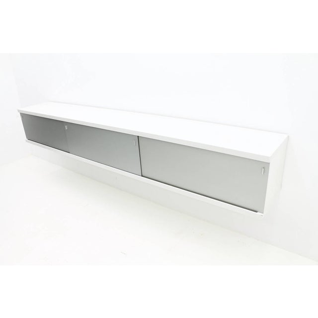 Metal Floating Sideboard by Horst Bruning, Behr, 1960s For Sale - Image 7 of 8