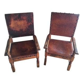 Spanish Chairs - a Pair