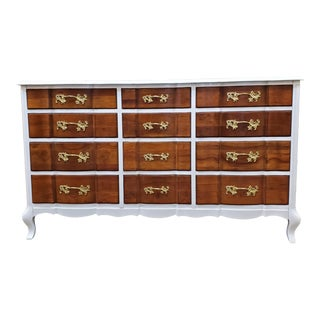 Vintage Permacraft French Provincial Dresser For Sale
