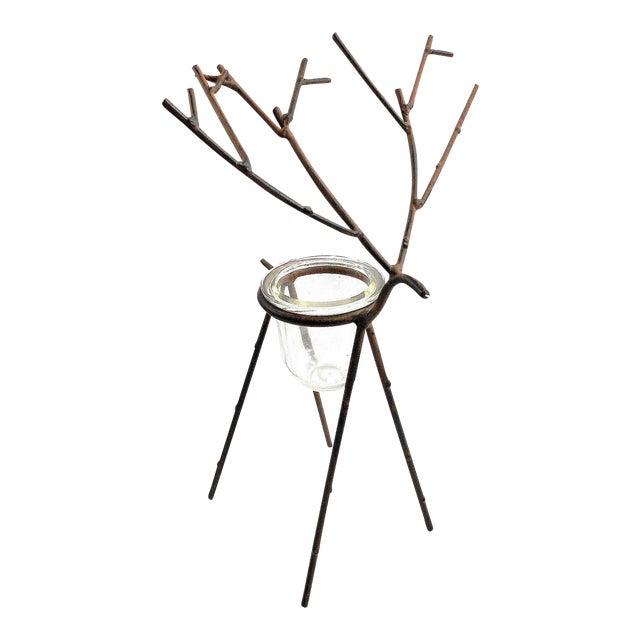 Deer Figure Votive Candle Holder - Image 1 of 8