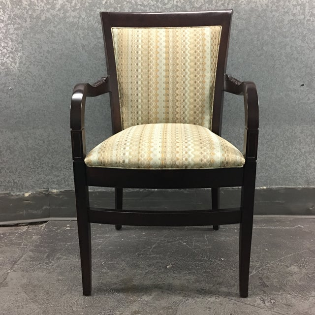Hickory Geometric Upholstered Sticking Chair - Image 2 of 7