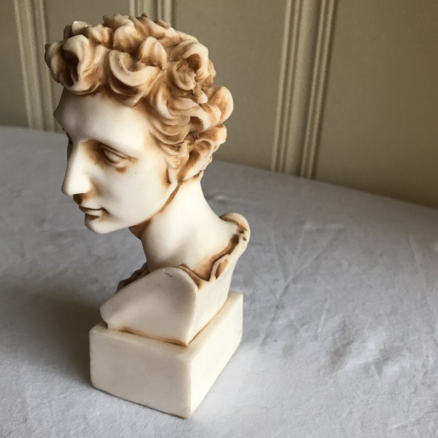 Bust of David - Image 3 of 9