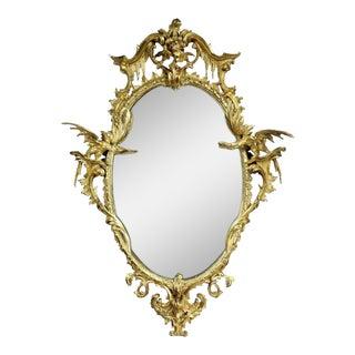 George III Gold Leaf Giltwood Mirror For Sale