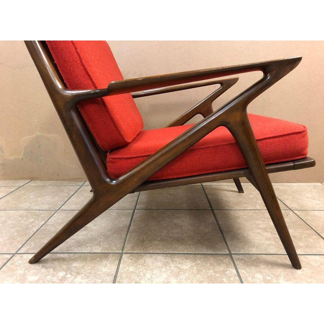 Selig Poul Jensen Z Lounge Chair for Selig For Sale - Image 4 of 8