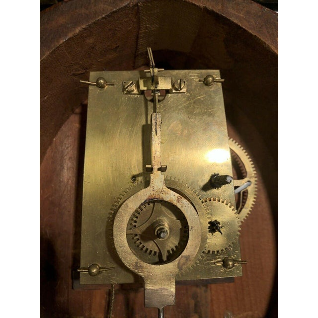 19th Century Massachusetts Banjo Clock For Sale In Los Angeles - Image 6 of 7