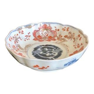 Antique Imari Porcelain Bowl For Sale