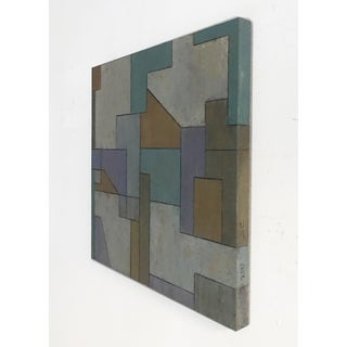 Mid-Century Modern ShapeShifter Study #3—Geometric Abstract Painting by Stephen Cimini Preview