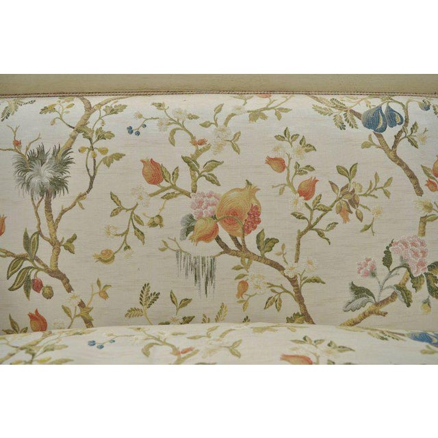 Early 20th Century Vintage French Empire Style Settee For Sale - Image 9 of 11