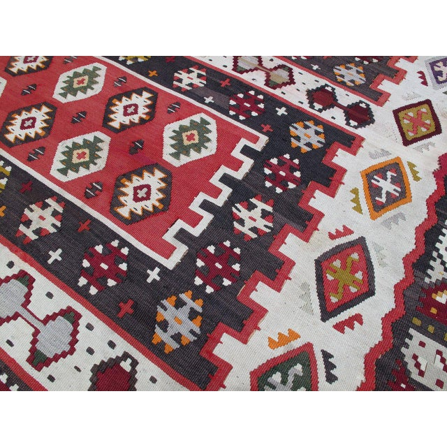 Balkan Kilim For Sale In New York - Image 6 of 9