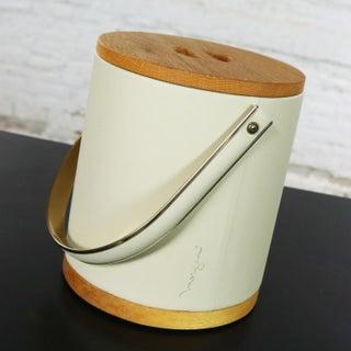 Mid Century Modern Morgan & Company Bucket Brigade Ice Bucket Preview