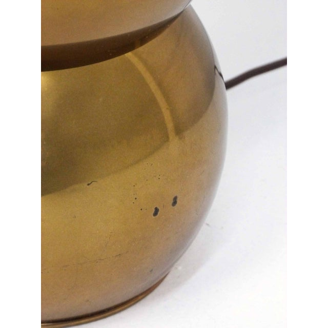George Kovacs Brass Stacked Ball Lamps - A Pair For Sale In Denver - Image 6 of 7