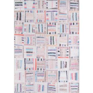 "Momeni Afshar Polyester Multi Area Rug - 7'6"" X 9'6"" For Sale"